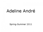 Adeline Andr� - Paris Fashion Week  - Spring-Summer 2011 Couture