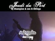 Astropolis 2007 - DJ Champion & ses G-Strings