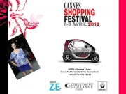 Christophe Guillarm� & Renault Twizy - Cannes Shopping Festival 2012