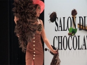 Fashion's Life - Malika M�nard Salon du Chocolat 2011