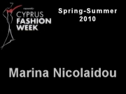Ne_ne by Marina Nicolaidou - Cyprus Fashion Week 2009